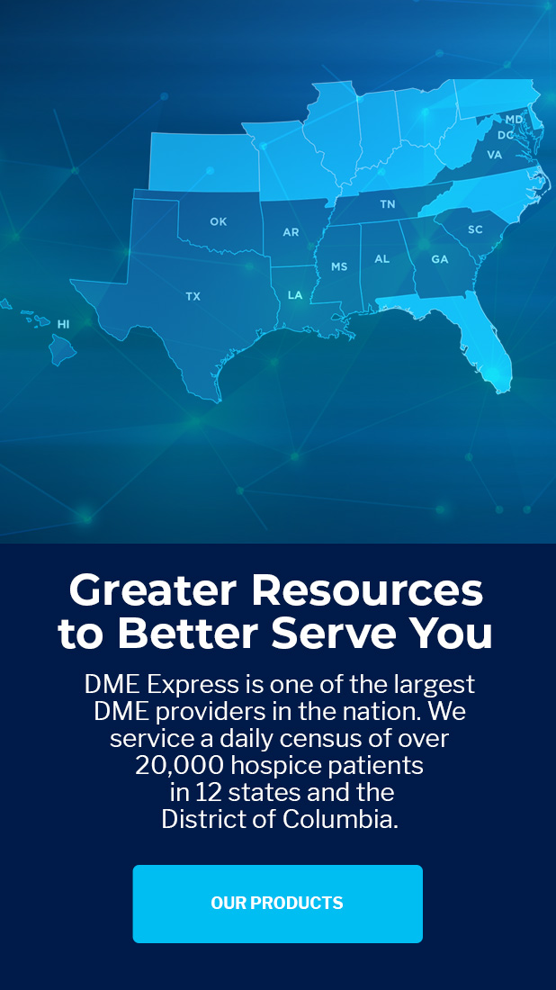 DME Express Locations